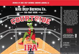 Knee Deep Courtside IPA